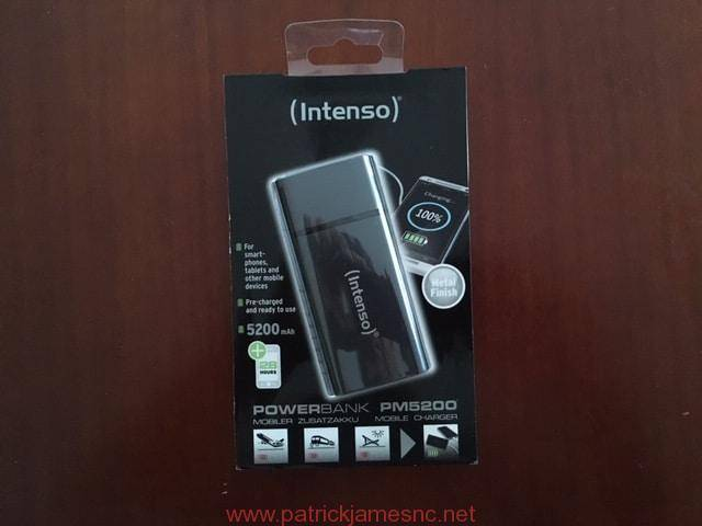 Test et avis de la powerbank Intenso PM5200 5200 mAh