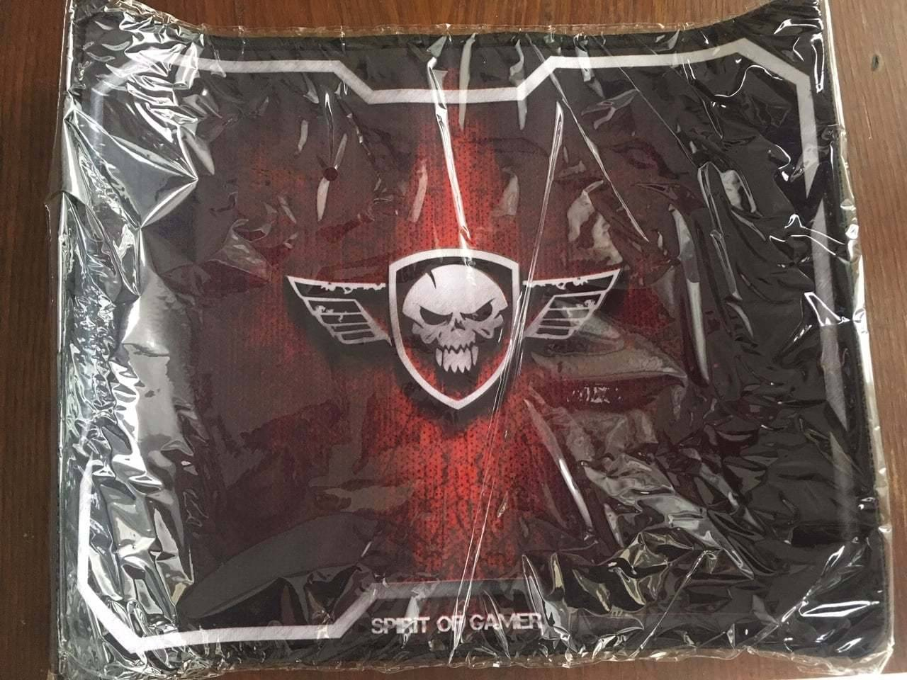 Spirit of Gamer, Test et avis du tapis de souris Red Winged Skull de Spirit Of Gamer, @patrickjamesnc, @patrickjamesnc