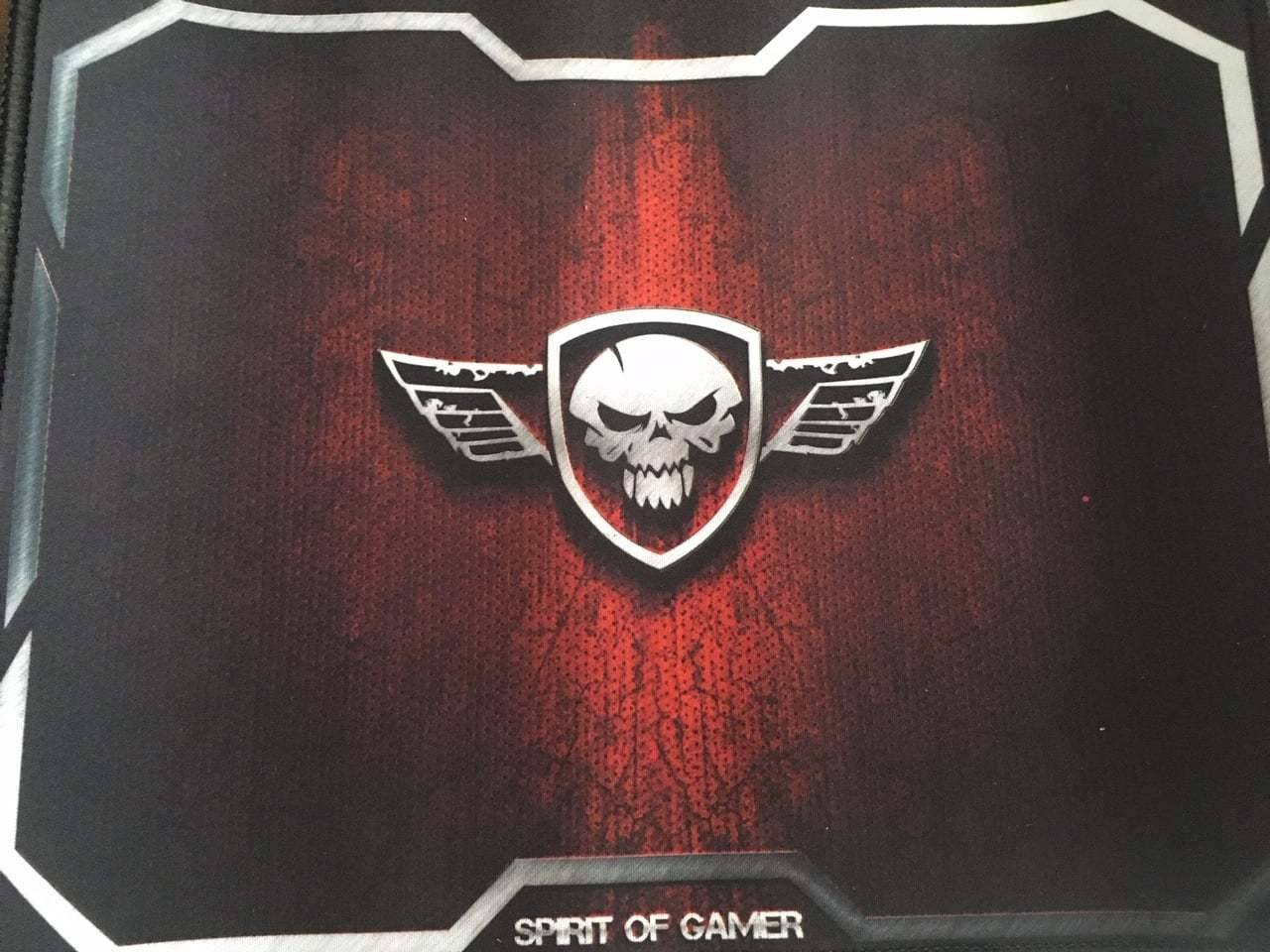 Test et avis du tapis de souris Red Winged Skull de Spirit Of Gamer