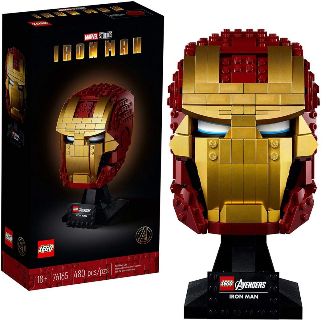 Casque d'Iron Man V29 LEGO 76165 Marvel une